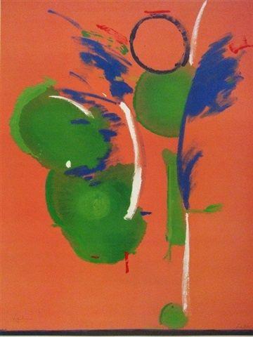 Helen Frankenthaler j, Mary, Mary [Annuntiation]