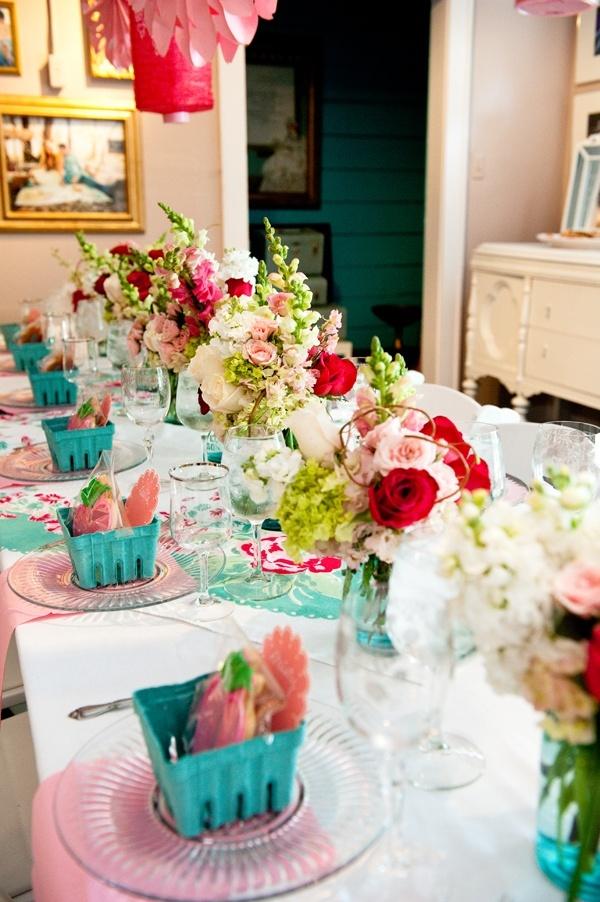 Bridal Shower Ideas The Wedding Chicks Table Settings