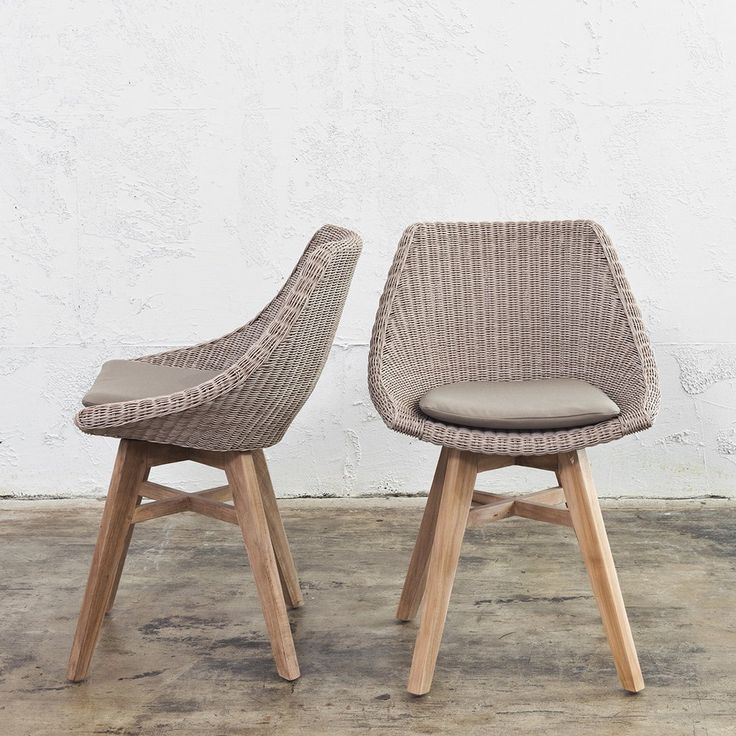 1000 ideas about wicker dining chairs on pinterest