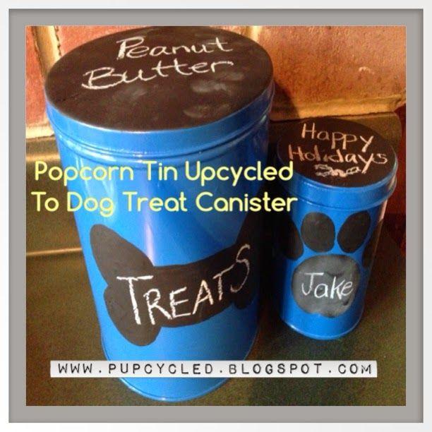 DIY Dog Treat Container Ideas