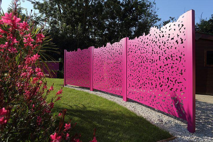 Panneau brise vue 25 pinterest for Panneaux decoratifs