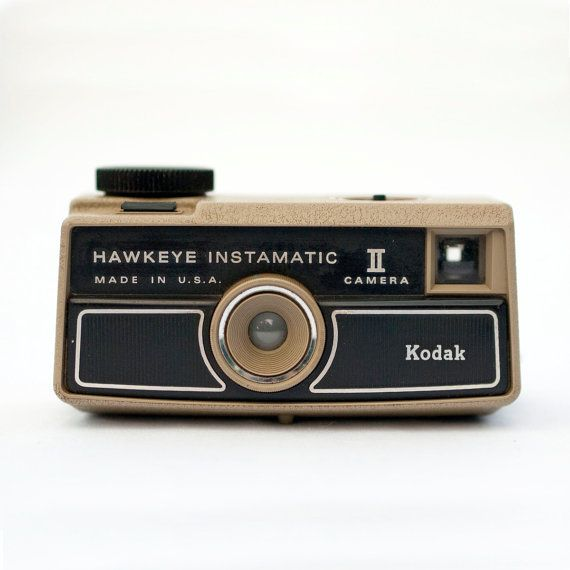 Kodak Hawkeye Instamatic II vintage camera by blackbirdandpeacock