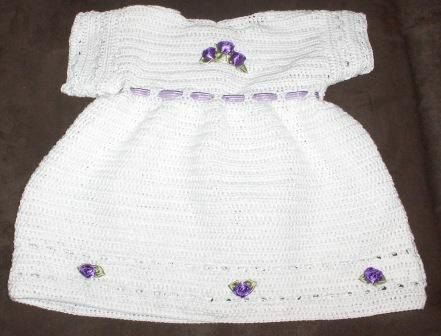 Crochet baby dress , crochet for baby,toddler dress, toddler crochet, crochet for girl, wedding, flowergirl by Hildescrochetshop on Etsy