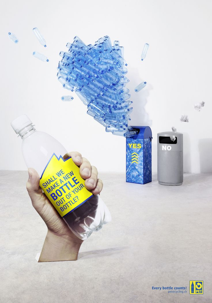 18 best images about anuncios de reciclaje recycling for What can we make out of plastic bottles