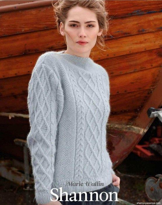 Пуловер с горловиной лодочка. Обсуждение на LiveInternet - Российский Сервис Онлайн-Дневников