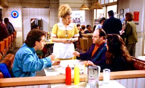 (The Opposite) - GEORGE: Wait a minute, I always have tuna on toast. Nothing's ever worked out for me with tuna on toast. I want the complete opposite of 'on toast'. Chicken salad, on rye, untoasted...and a cup of tea. ELAINE: Well, there's no telling what can happen from this. JERRY: You know chicken salad is not the opposite of tuna. Salmon is the opposite of tuna, 'cuz salmon swim against the current, and the tuna swim with it. GEORGE: Good for the tuna.