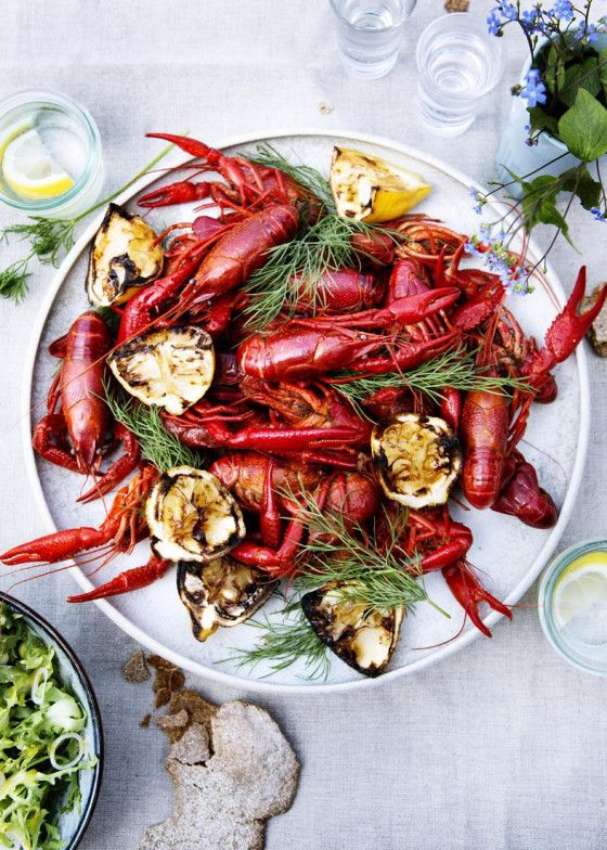 Kräftkalas - a late summer feast of crayfish in Sweden