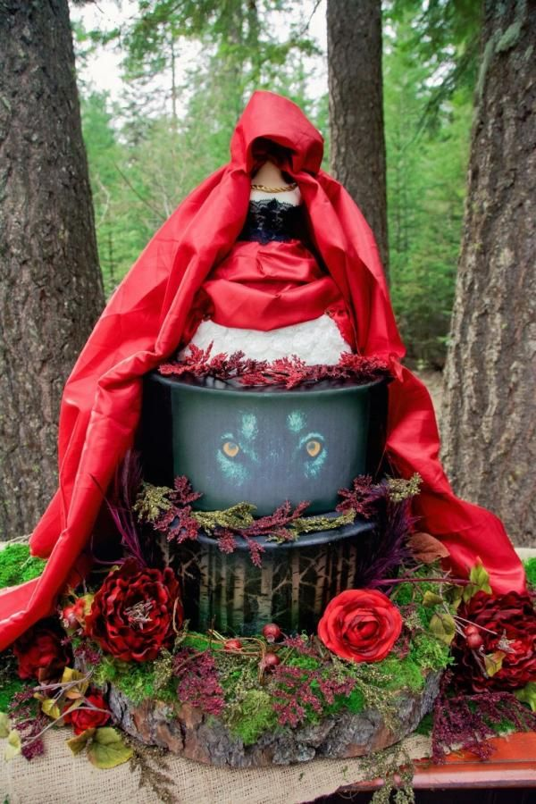 Red Riding Hood by Sweet Delights By Krystal  Flower