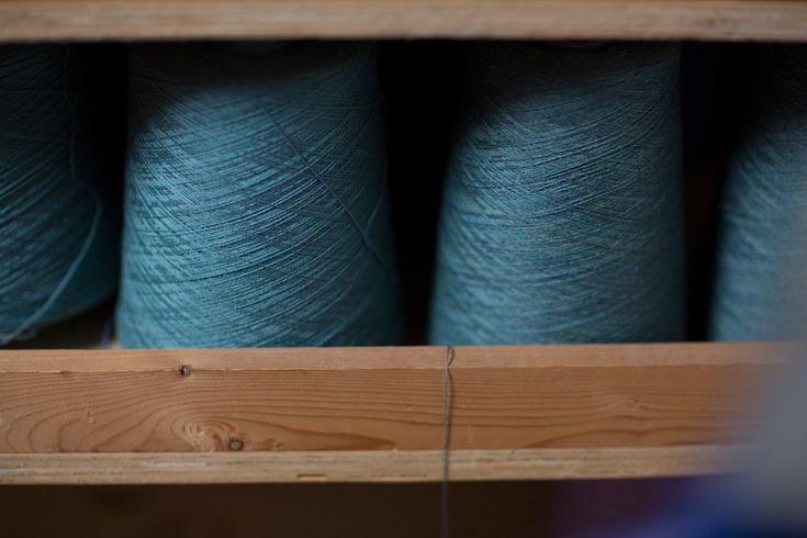 Blue Mood | McKernan Woollen Mills | Handmade in Ireland | Irish Design | Weaving & Knitting | Mens & Womens Accessories