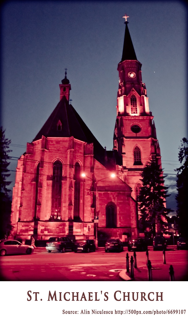 St. Michael Church Cluj-Napoca  https://www.facebook.com/FromTransylvaniaWithLove