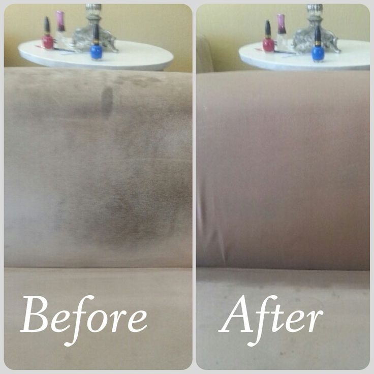 how to clean suede sofa arms
