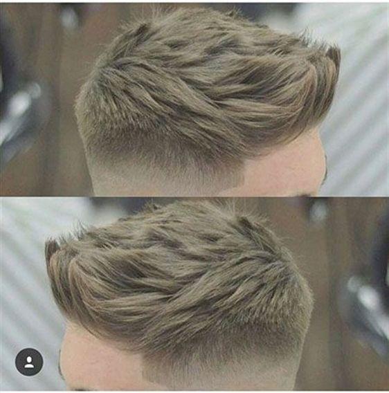 1-Men's Haircuts 2018 2-Cooles Haar 3-Business-Haar 4-Neu