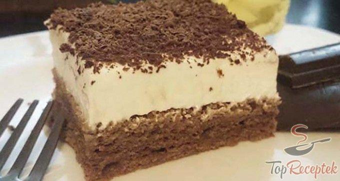 Isteni finom tejfölös sütemény