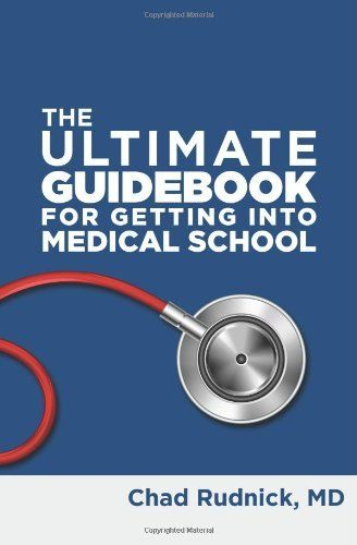 A must-read for ALL premed students and those in high school thinking about being #premed. Medical school. College. The Ultimate Guidebook For Getting Into Medical School by Chad Rudnick MD, http://www.amazon.com/dp/0988302500/ref=cm_sw_r_pi_dp_UZvKsb087Z64G