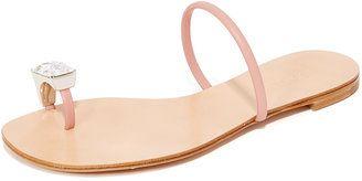 Casadei Toe Ring Sandals - $312.00