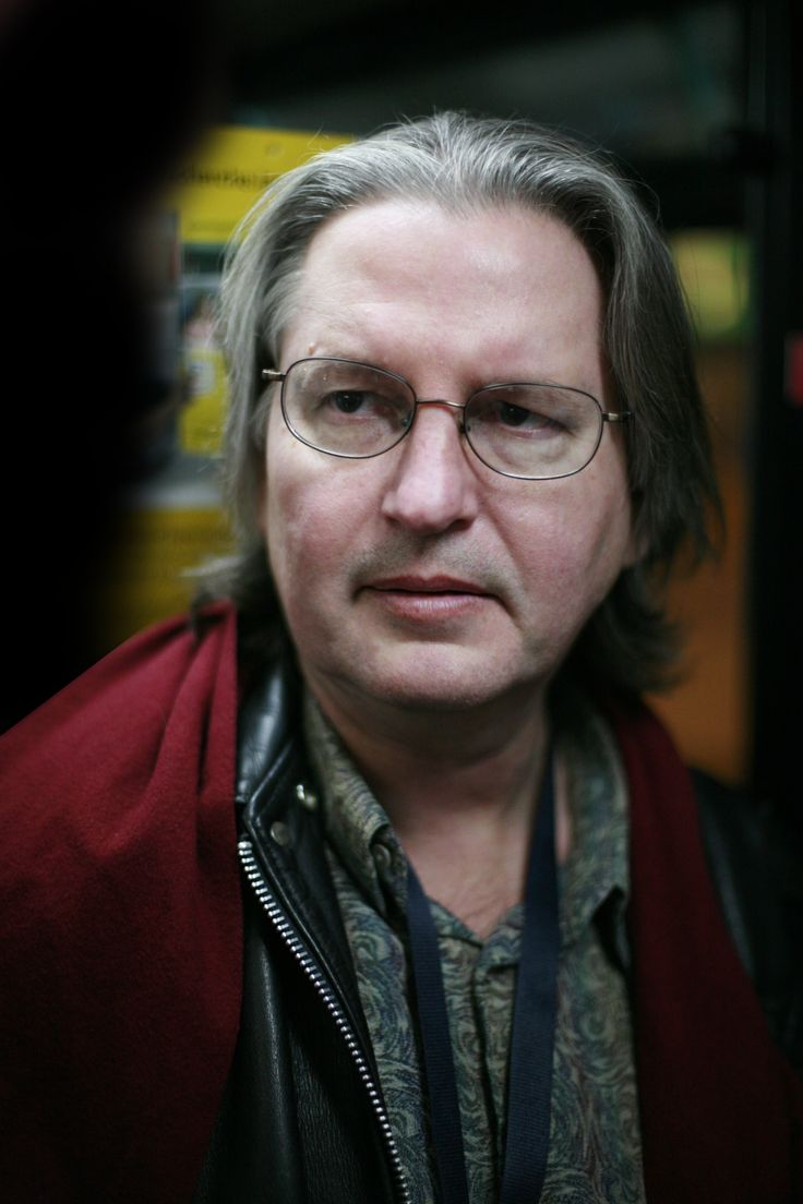 Bruce Sterling, editor of Mirrorshades