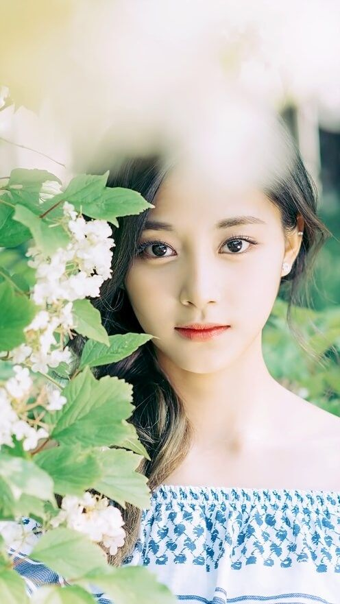 no사나no라이프's Jesus Twice album on PHOLAR tzuyu photoshoot