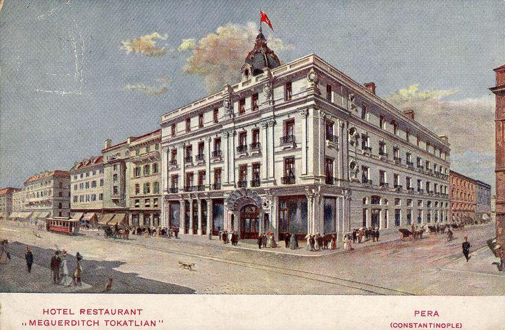 Tokatlıyan Hotel _ Beyoğlu İstiklal Caddesi üzerinde yer alan Tokatlıyan Oteli, Tokat'tan İstanbul'a göç etmiş bir Ermeni olan Mıgirdiç Tokatlıyan tarafından 1897'de hizmete açıldı