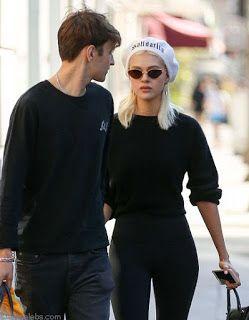 海外セレブスナップ | Celebrity Style: 【二コラ・ぺルツ】ニコラにぞっこんな恋人アンウォー・ハディッドと仲良く黒コーデでお買い物へ!