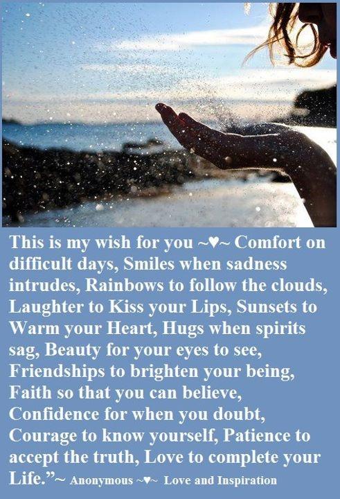 My wish...