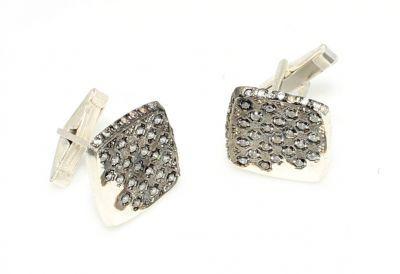925 Ayar Gümüş Fihi Ma Fih Modeli Kol Düğmesi