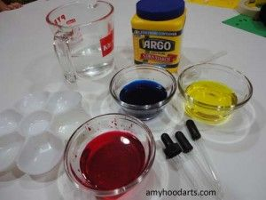 Preschool Color-Mixing Activity