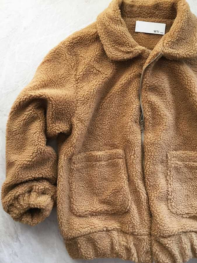 d8d90d9e3dae Get chic teddy faux fur coat with  10 OFF code FREESHIPPING-FUZZY   worthtryit. short oversized womens fleece teddy coat zipper fur coats for  women stylish ...
