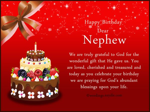 Nephew Birthday Messages Happy Birthday Wishes For Nephew Wordings And Messages Happy