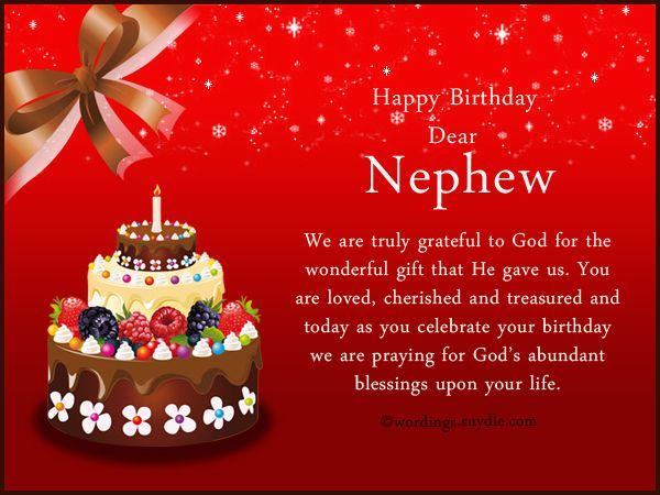 Nephew Birthday Messages: Happy Birthday Wishes For Nephew