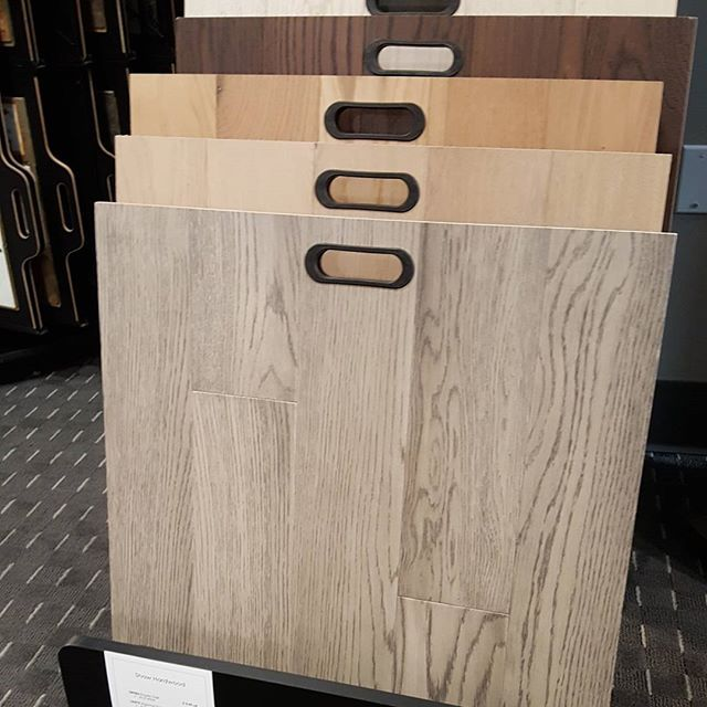 Check out @shawfloors Empire Oak wire brushed hardwood in elegant colours such as Vanderbilt, Roosevelt, Hearst, Astor and Rockefeller #flooringStonyPlain #getitatmajestic