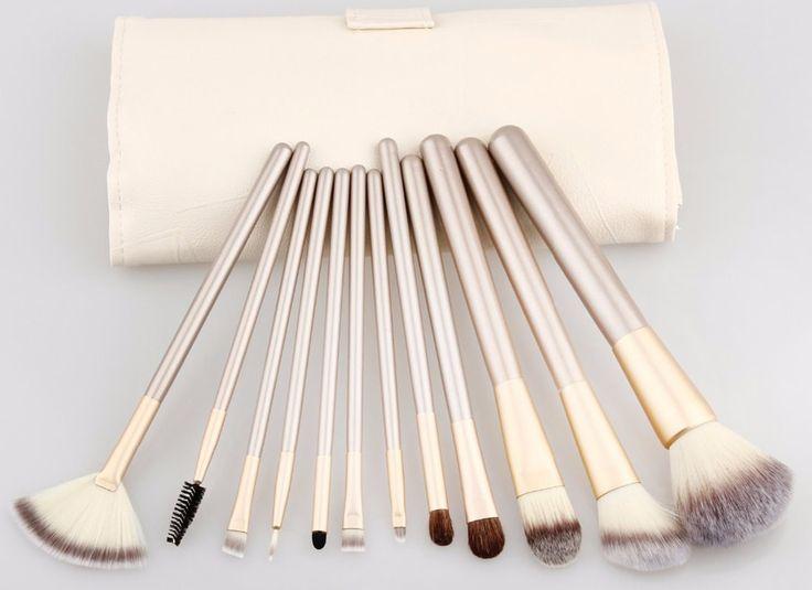 12 pcs Makeup Brush Set