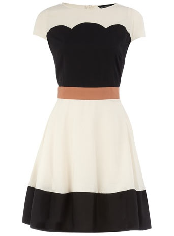 deco colorblock dress. love, love, love!