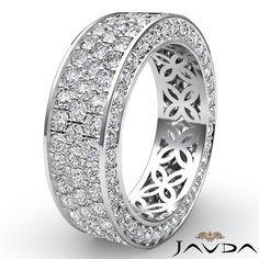 wide band diamond wedding rings - Google Search