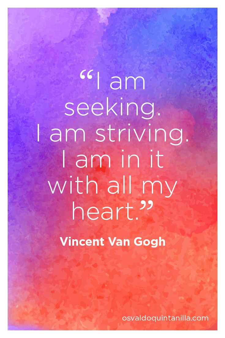 Inspiration from one of my favourite artist Vincent Van Gough – The Creative Reboot book available on Amazon