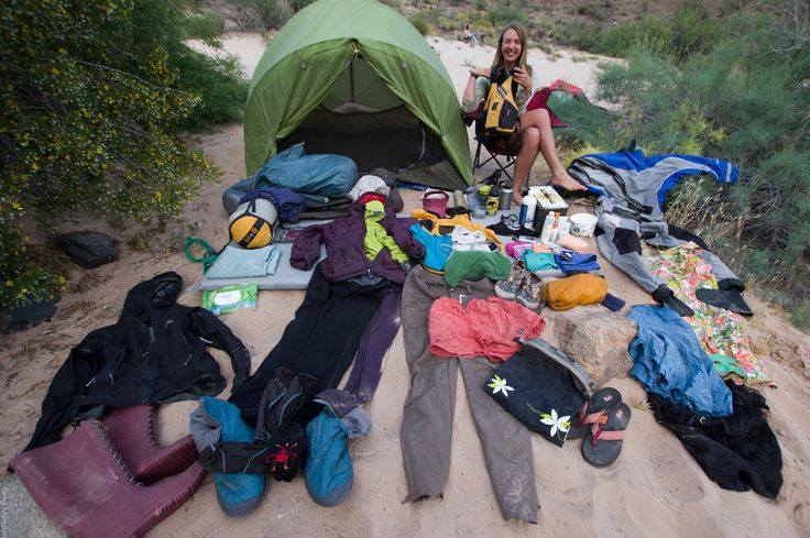 Grand Canyon Rafting Trip Packing List for Women