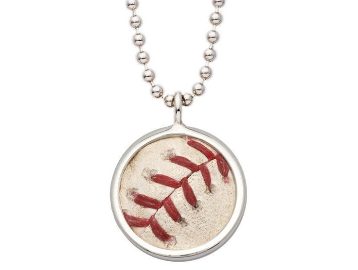 Tokens & Icons Major League Baseball Game Used Baseball Pendant