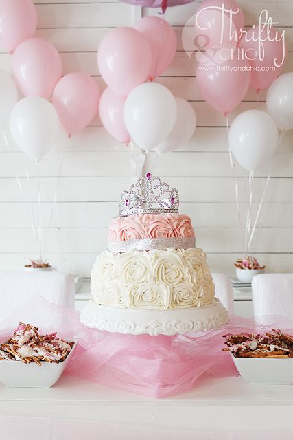 Princess Party Decor and Decorating Ideas