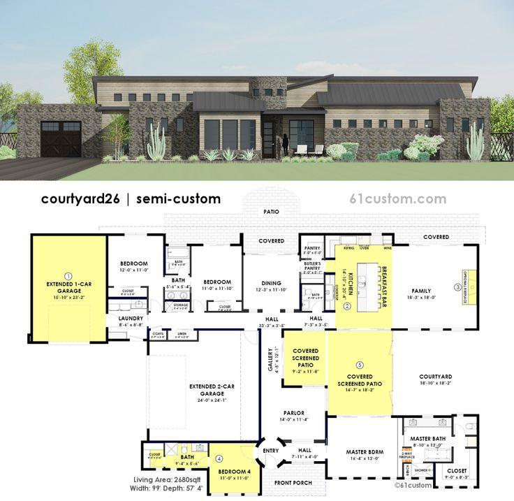 61 Custom Modern House Plans