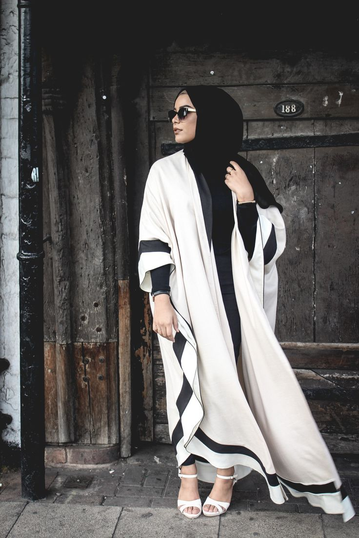 Hey loves! I'm sure many of you by now have seen this new open abaya style that…