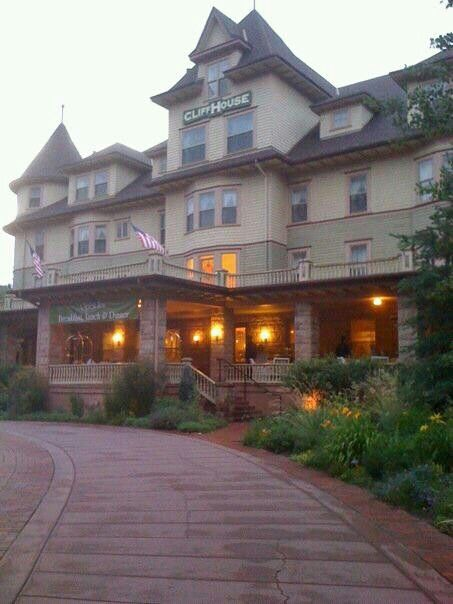 The Cliff House Hotel in Manitou Springs Colorado. I love this old hotel. Stayed here many times as a kid.