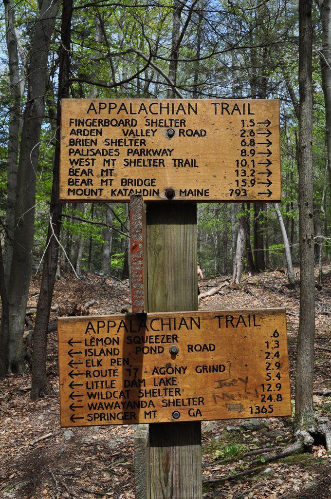 Appalachian Trail, Harriman State Park, New York