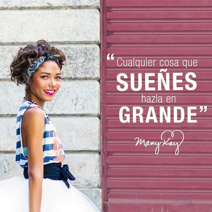 Planea tus metas, cumple tus objetivos y celebra tus logros. #InspiraciónMaryKay #Frases #Quotes #MaryKayAsh