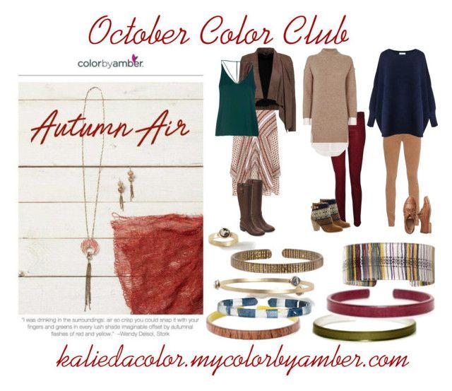 """October Color Club"" by kaliedacolor on Polyvore featuring AMBRE, 10 Crosby Derek Lam, Hudson, AG Adriano Goldschmied, MuuBaa, Brochu Walker, Paisie, Cole Haan, Topshop and Gap"