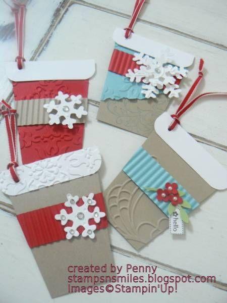Christmas gift tags - adorable!