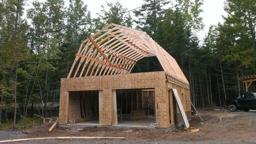 The 25 Best Gambrel Roof Trusses Ideas On Pinterest Gambrel Roof Gambrel And Pole Barn Trusses