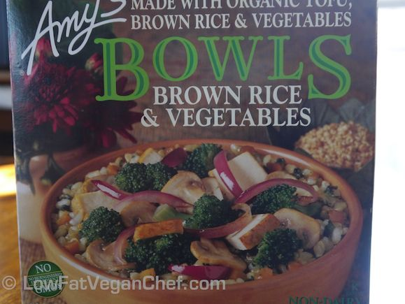Amys Brown Rice & Vegetables Bowl Review 1