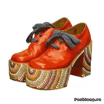 Обувь хиппи