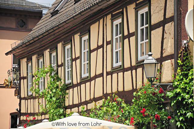 Fachwerk of Weinhaus Rose