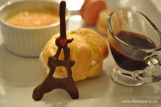 Valentine's Day in Paris French Themed Dinner Party