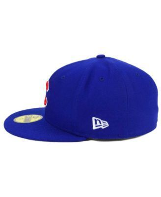 New Era Chicago Cubs Flag Stated Redux 59FIFTY Cap - Blue 7 3/4